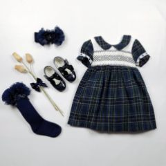 Set Rochita  si Sosete Beau Navy