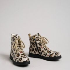 Ghete cu Imprimeu Leopard Twin Set