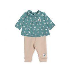Set Bluza si Pantalonasi Turquise Fete si Bebelusi Fete