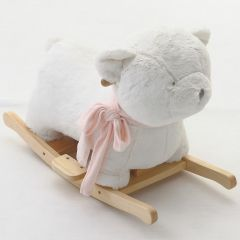 Batuffolo Nanan balansoar cu esarfa roz