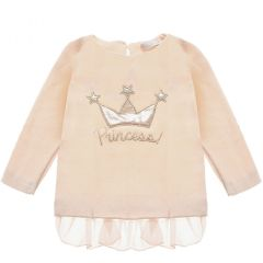 Bluza Princess cu coronita, Nanan