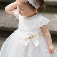 Rochie cu Pantalonasi de Ceremonie cu Fundita Aplicata si Strasuri