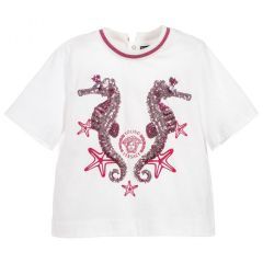 Bluza Versace Fete cu Broderie de Pietre