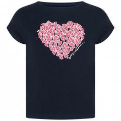 Tricou Armani Fete cu Inima Roz