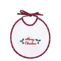 Baveta Bebelusi cu Broderie Merry Christmas