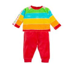 Trening Multicolor cu Logo Brand pentru Bebelusi